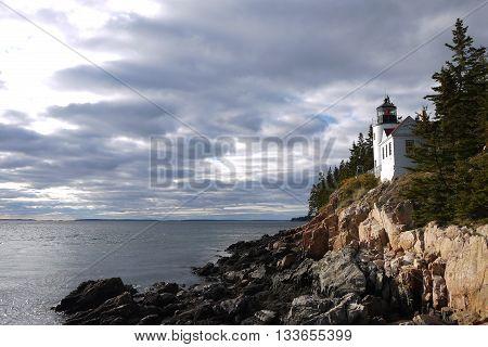 Bass Harbor Head Light, Mount Desert Island, Maine, USA