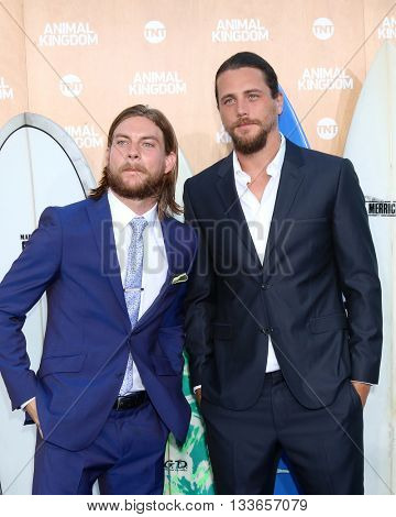 LOS ANGELES - JUN 8:  Jake Weary, Ben Robson at the Animal Kingdom Premiere Screening at the The Rose Room on June 8, 2016 in Venice Beach, CA