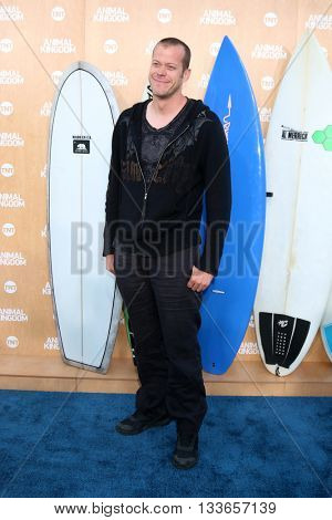 LOS ANGELES - JUN 8:  Jeb Corliss at the Animal Kingdom Premiere Screening at the The Rose Room on June 8, 2016 in Venice Beach, CA