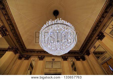 Interior Of The La Scala Theater, Milan, Italy