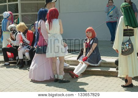 Cosplayer Dressed As The Character  Nanami Haruka