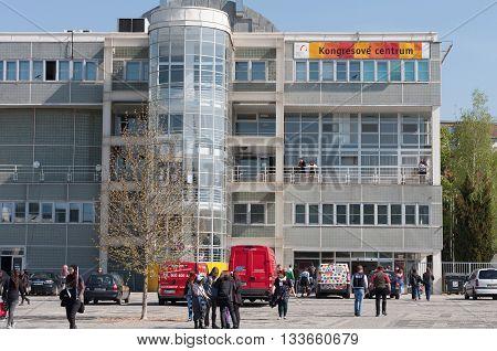 Entrance Building Of Brno Exhibition Ground