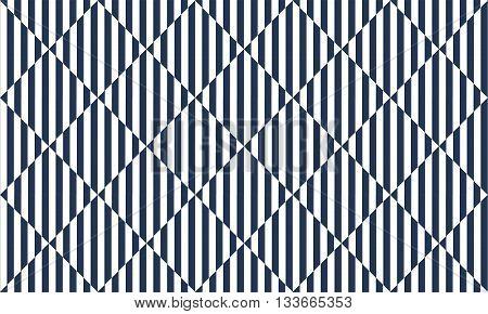 Seamless geometric pattern Square illusion texture pattern Blue and white pattern.