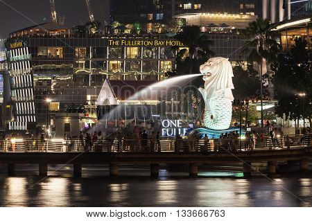 The Merlion Statue