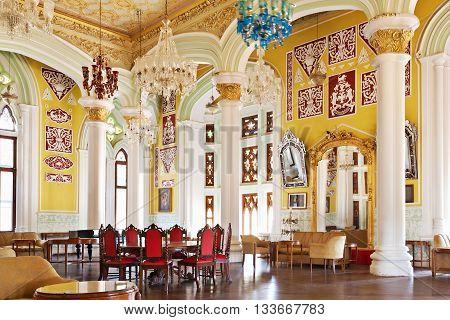 Inside Bangalore Palace