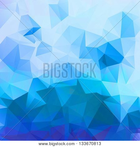 Abstract Blue Business Background. triangle pattern. Eps 10. Raster copy