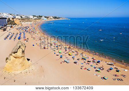 Albufeira City Beach