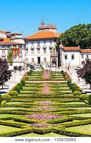 Garden In Guimaraes
