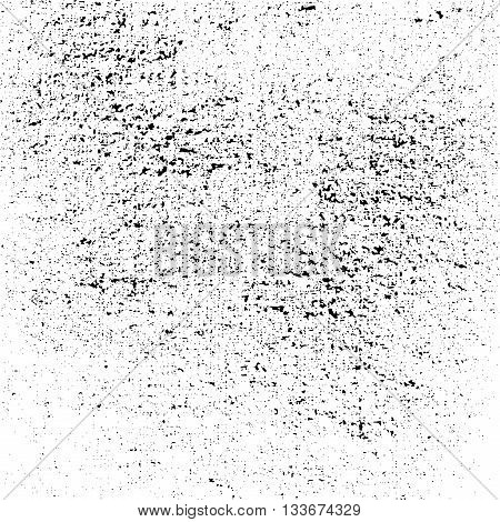 Dust texture white and black. Grunge sketch to Create Distressed Effect. Overlay Distress grain monochrome design. Stylish modern background for different print products. Vector illustration