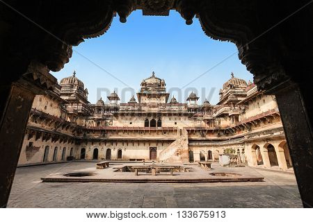 Jehangir Mahal (orchha Fort) In Orchha, India