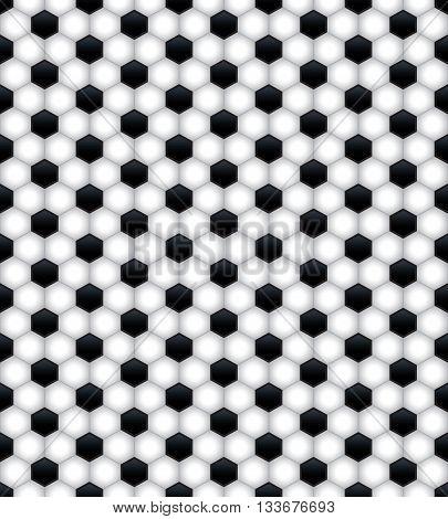 Seamless Soccer Pattern Background