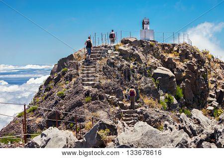 Pico Ruivo, Madeira Island