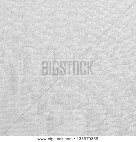White towel texture or white towel  background