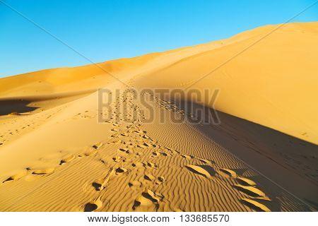 In Oman Old Desert   Outdoor  Sand Dune