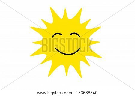 Sleepy Funny Sun