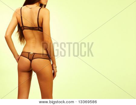 Hot sexy silhouette.