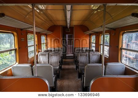 Inside Train View