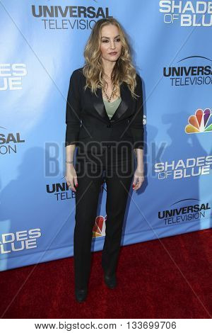 LOS ANGELES - JUN 9:  Drea de Matteo at the Shades of Blue Television Academy Event at the Saban Media Center on June 9, 2016 in North Hollywood, CA