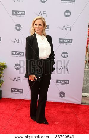 LOS ANGELES - JUN 9:  Marlee Matlin at the American Film Institute 44th Life Achievement Award Gala Tribute to John Williams at the Dolby Theater on June 9, 2016 in Los Angeles, CA