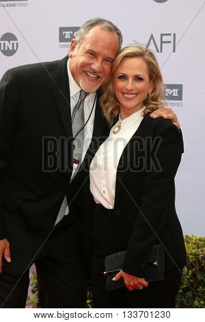 LOS ANGELES - JUN 9:  Howard Bragman, Marlee Matlin at the American Film Institute 44th Life Achievement Award Gala Tribute to John Williams at the Dolby Theater on June 9, 2016 in Los Angeles, CA