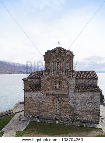 St. John at Kaneo church in Ohrid Macedonia
