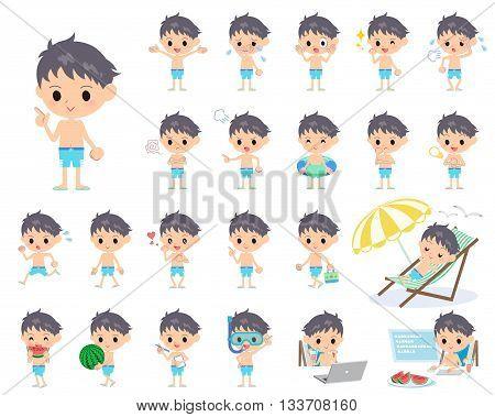 Boy Blue Swimwear Style