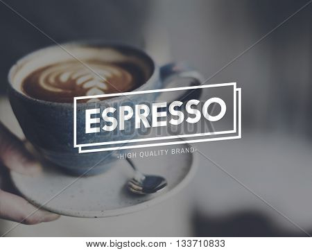 Espresso Coffee Relaxing Break Time Rest Concept