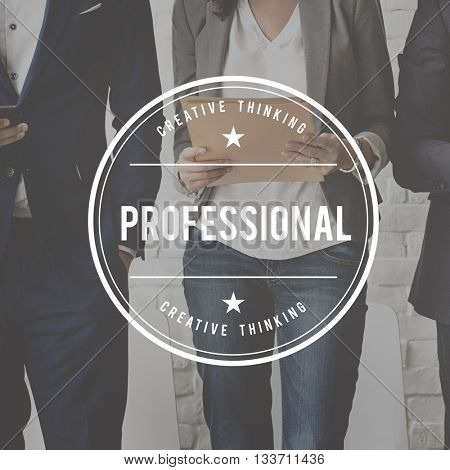 Professional Occupation Expertness Business Talent Concept