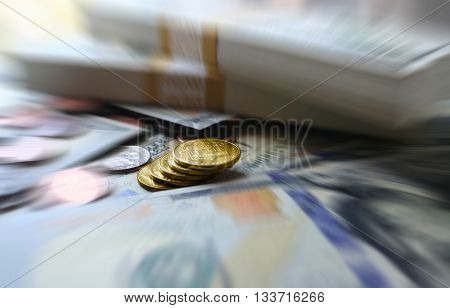 Money Close Up Stock Photo High Quality