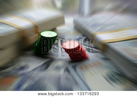 Gains & Losses Stock Photo High Quality