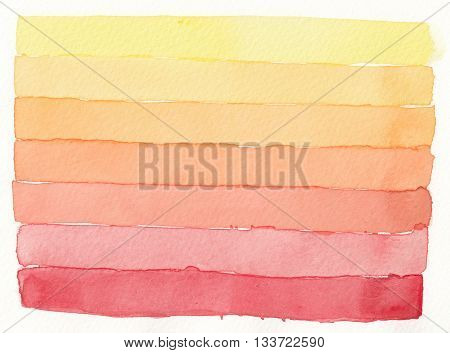 abstract red orange yellow shading layers abstract background
