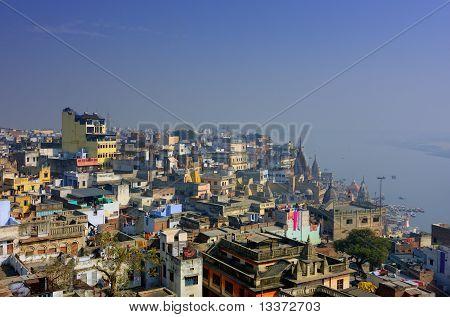 Holy Indian Sity Varanasi