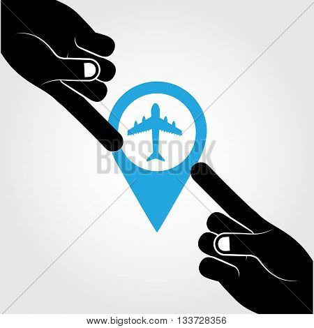 global positioning system design, vector illustration eps10 graphic