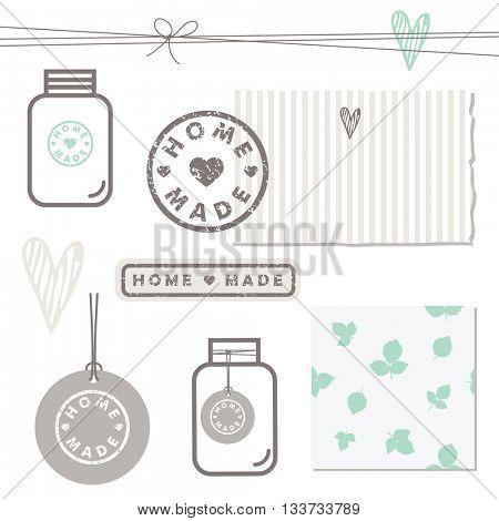 Homemade design elements