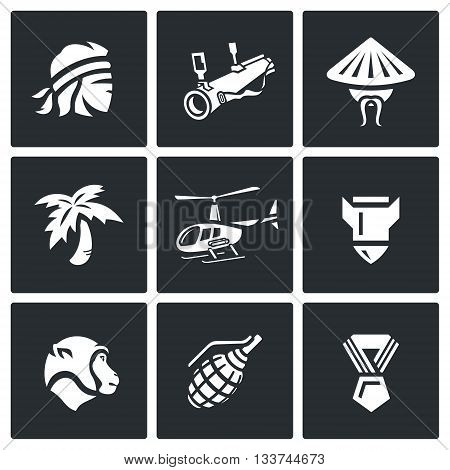 Man, head, weapon, resident, palm, transport, shell, animal, medal.