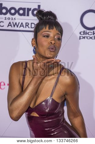 LAS VEGAS - MAY 22 : Actress/recording artist Keke Palmer poses in the press room at the 2016 Billboard Music Awards at T-Mobile Arena on May 22 2016 in Las Vegas Nevada.