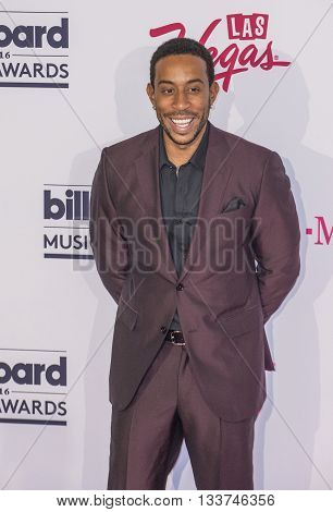 LAS VEGAS - MAY 22 : Co-host Ludacris poses in the press room at the 2016 Billboard Music Awards on May 22 2016 in Las Vegas