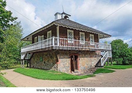 Stone house of A.P.Gannibal in the village Petrovskoye Pushkinskiye Gory