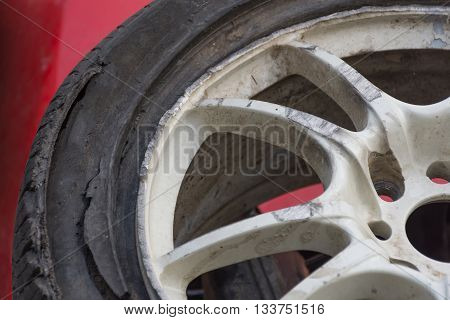 Alloy Wheels Damaged