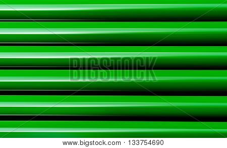 Horizontal vivid vibrant green business presentation abstract blinds background backdrop