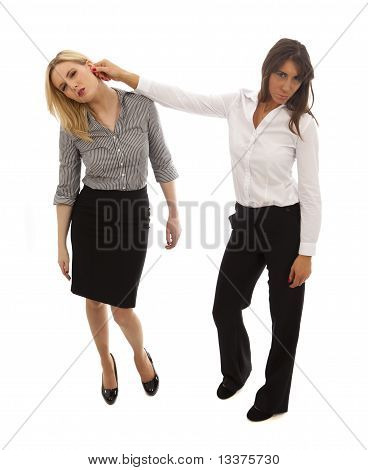 Business Woman Bully