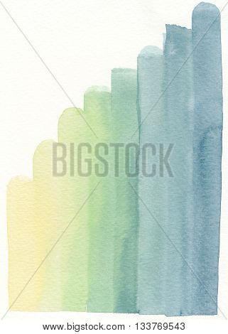 abstract shading yellow green blue abstract background