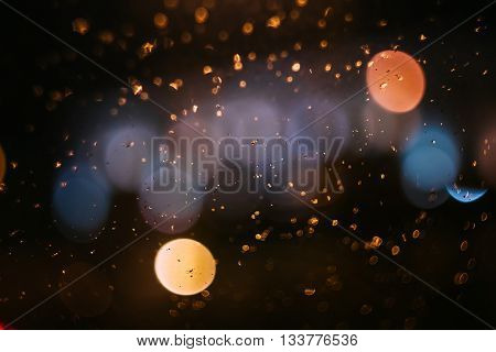 Abstract Blur Blurred Boke Bokeh Defocused Lights Background