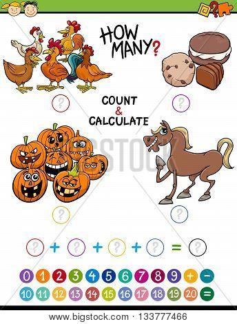Preschool Math Educational Activity