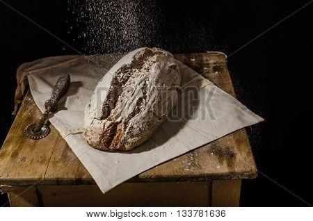 Homemade Bread Rustic Sourdough