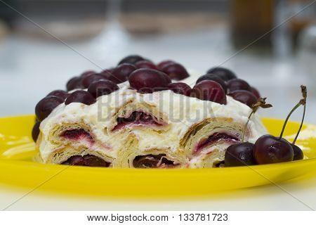 Russian cake named