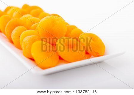 Dried Apricots for happy breakfast in Ramadan