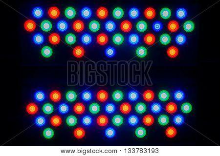 Close up of a Spot light background