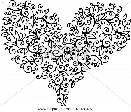 Romantic Heart vignette