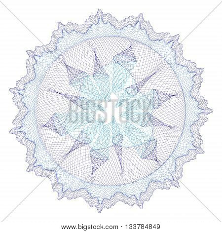 Watermarks for diploma and certificate,guilloche element for design,